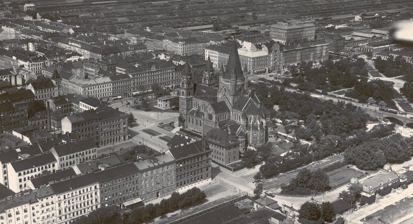 Der Wiener Mexikoplatz in den 1930er-Jahren